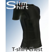Chest t-shirt pseudo gynaecomastie borstvorming man shirt hemd