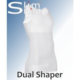 Dual Shaper | Extra sterk figuurcorrigerend shirt voor mannen.