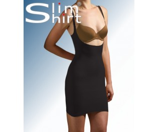 all in one body smoother  Trinny and Susannah, seamless high waist shaping skirt,