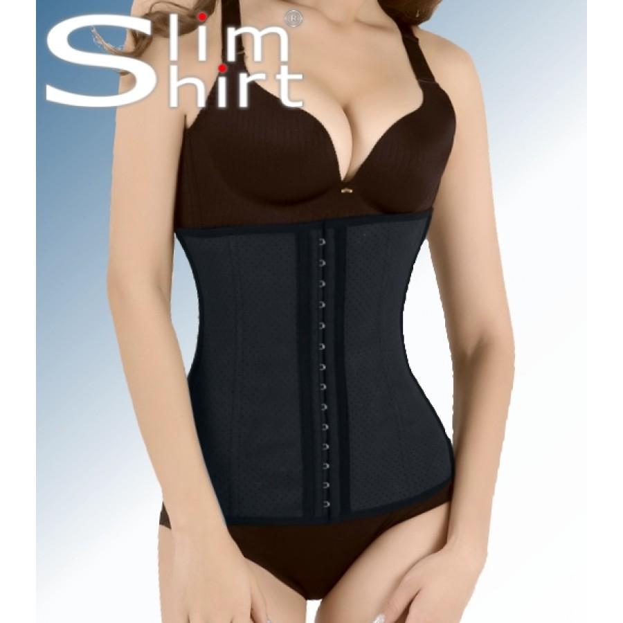 a79323686fea5 ... Latex Waist body Shaper cincher shapewear women ...