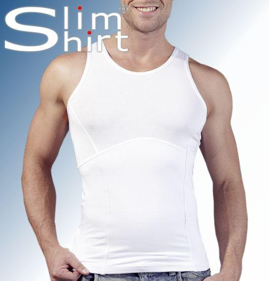 mens body shaper tank top shirt slimming waist belly compression vest spanx