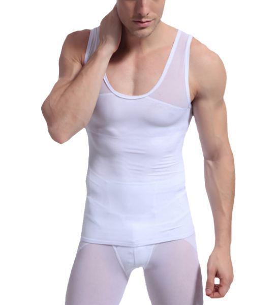 body shaping, slimming, shaper men shapewear vest shirt shaper