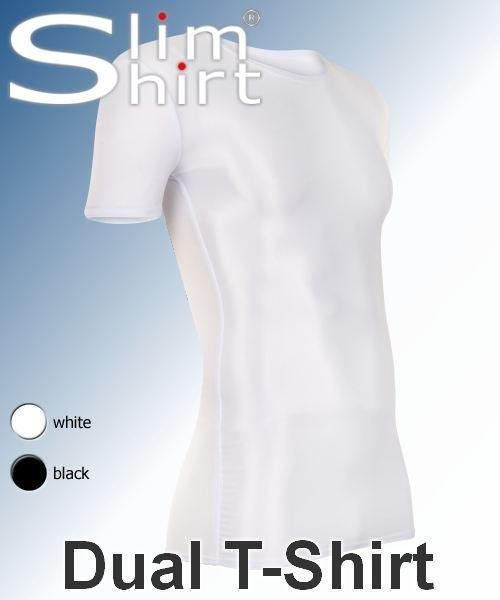 body shaping shaper shapewear compression slimming tshirt