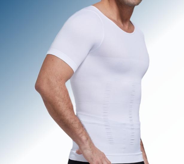 figuurcorigerend corrigerend mannen heren hemd t-shirt