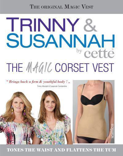Trinny & Susannah | Nahtlose formende Tank-Top body shaper mit offenem Brustbereich