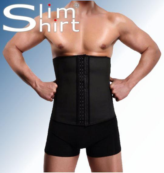 mens male waist trainer cincher Binder abdominal corset